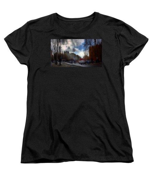 Streetlights 2 Women's T-Shirt (Standard Cut) by Terence Morrissey