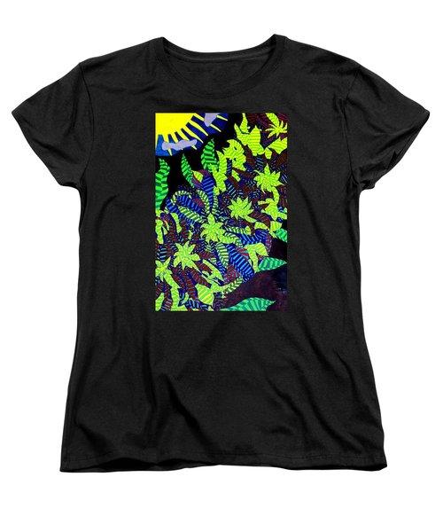 Women's T-Shirt (Standard Cut) featuring the painting Summer Bloom by Jonathon Hansen