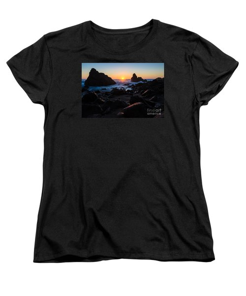 Women's T-Shirt (Standard Cut) featuring the photograph Sun Kissed by CML Brown