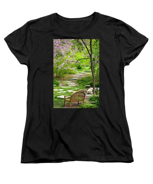 Tranquility Women's T-Shirt (Standard Cut) by Living Color Photography Lorraine Lynch