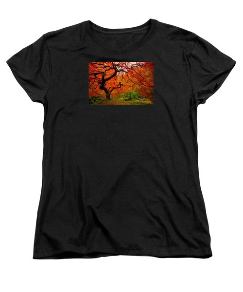 Tree Fire Women's T-Shirt (Standard Cut)