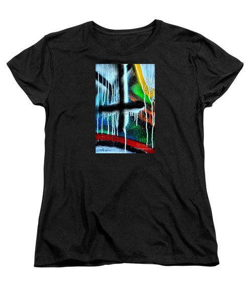 Women's T-Shirt (Standard Cut) featuring the photograph Urban Abstract 9 by Newel Hunter