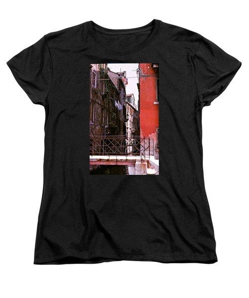 Women's T-Shirt (Standard Cut) featuring the photograph Venice by Ira Shander