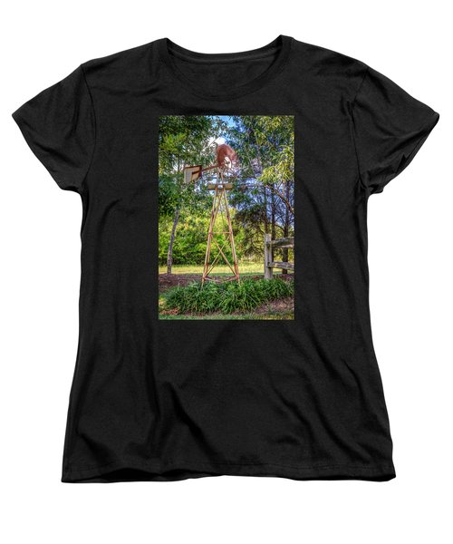 Women's T-Shirt (Standard Cut) featuring the photograph Warm Breeze by Rob Sellers