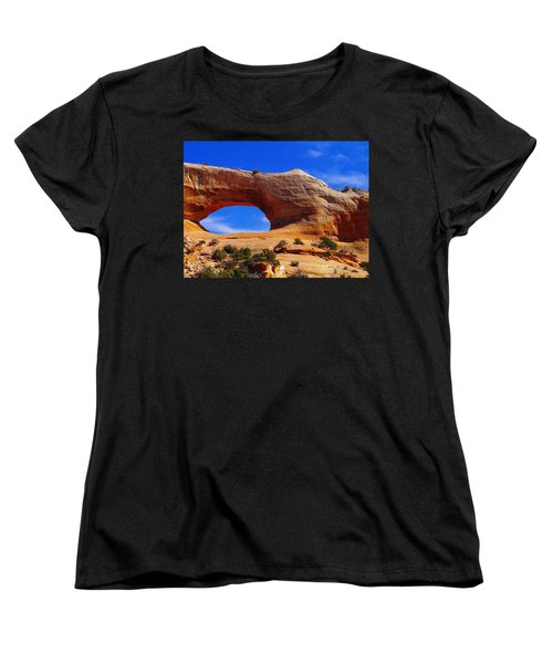 Wilsons Arch Women's T-Shirt (Standard Cut) by Jeff Swan