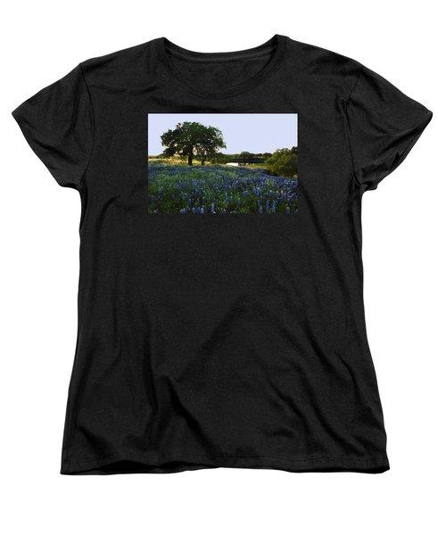 10 Women's T-Shirt (Standard Cut) by Susan Rovira
