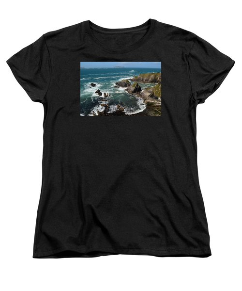 Blasket Islands Women's T-Shirt (Standard Cut) by Barbara Walsh