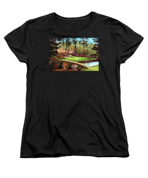 12th Hole At Augusta  Women's T-Shirt (Standard Cut)