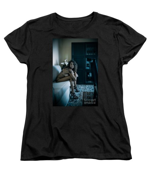 Que Nos Vies Aient L'air D'un Film Women's T-Shirt (Standard Cut) by Traven Milovich