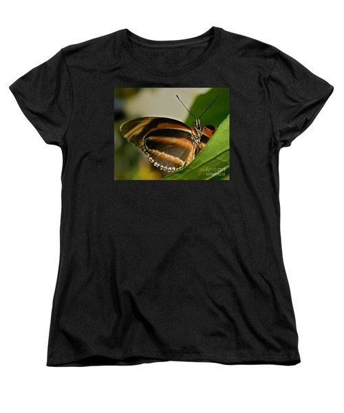 Women's T-Shirt (Standard Cut) featuring the photograph Butterfly by Olga Hamilton