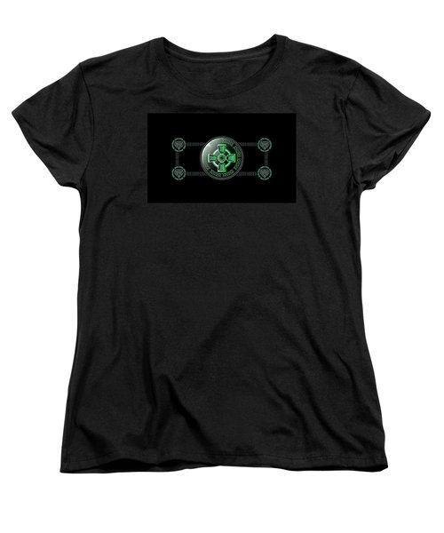 Celtic Cross Women's T-Shirt (Standard Cut) by Ireland Calling