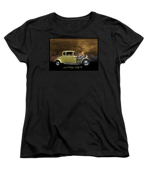 1930 Ford Coupe Women's T-Shirt (Standard Cut) by Richard Farrington
