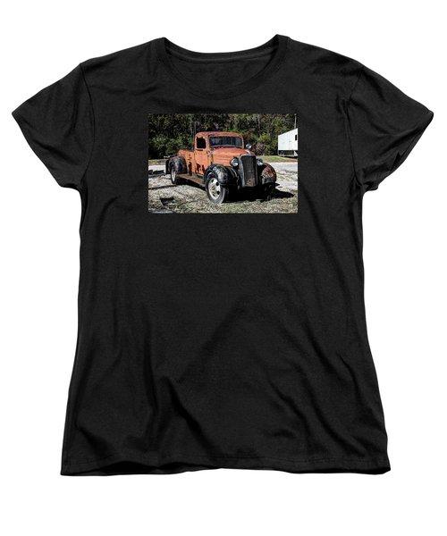 1937 Chevy Wrecker Women's T-Shirt (Standard Cut)