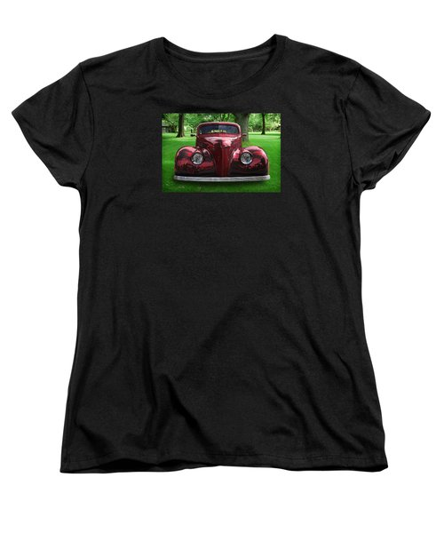 1938 Ford Coupe Women's T-Shirt (Standard Cut) by Richard Farrington