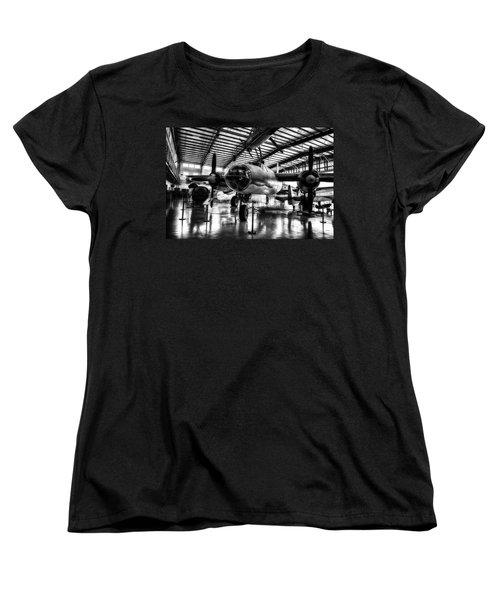 1940 Martin B-26 Marauder In Hdr  Women's T-Shirt (Standard Cut) by Michael White