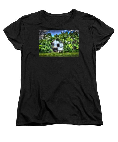 Women's T-Shirt (Standard Cut) featuring the photograph 1948 Ford by Ray Congrove