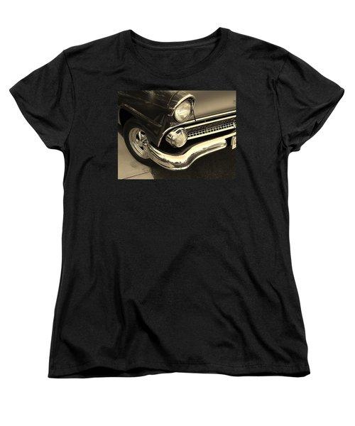 1955 Ford Crown Victoria Women's T-Shirt (Standard Cut)