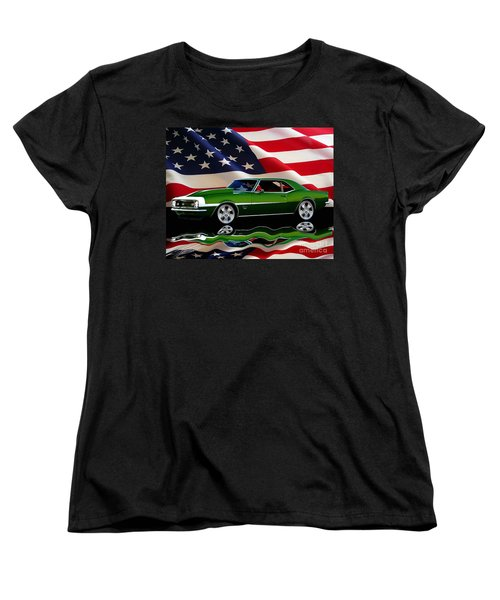 1968 Camaro Tribute Women's T-Shirt (Standard Cut) by Peter Piatt