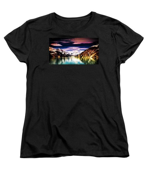 Alaska Women's T-Shirt (Standard Cut) by Bill Howard