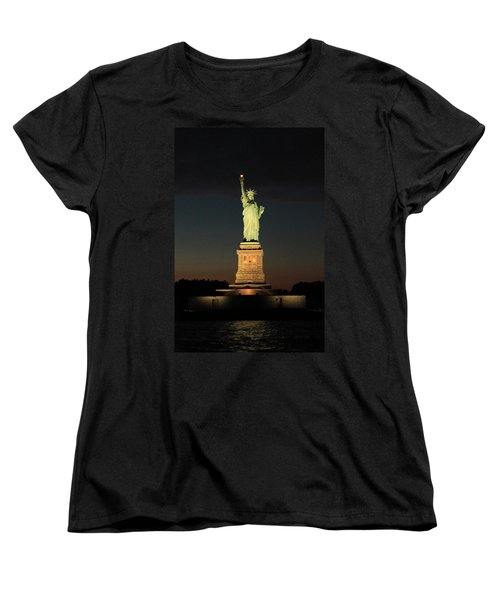 All Lit Up Women's T-Shirt (Standard Cut) by Catie Canetti