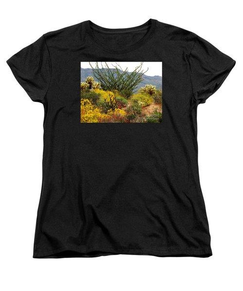 Arizona Springtime Women's T-Shirt (Standard Cut) by Marilyn Smith