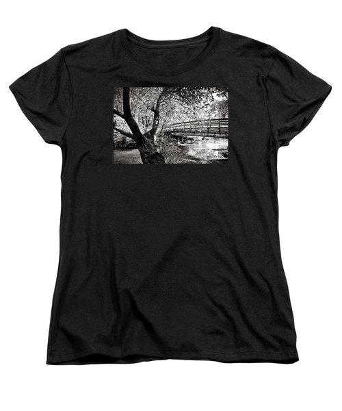 Bridge At Ellison Park Women's T-Shirt (Standard Cut)