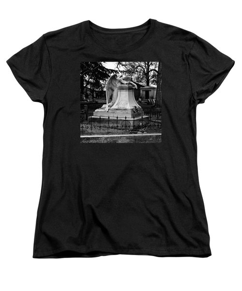 Broken Angel  Women's T-Shirt (Standard Cut) by Peter Piatt