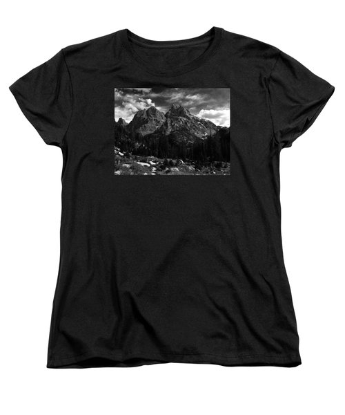 Cathedral Group From The Northwest Women's T-Shirt (Standard Cut) by Raymond Salani III