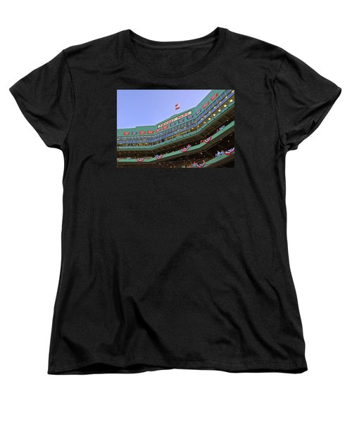 Fenway's 100th Women's T-Shirt (Standard Cut) by Joann Vitali