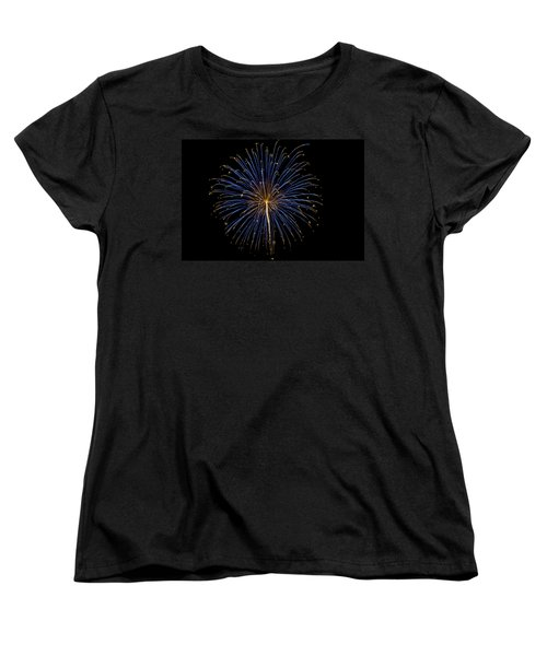 Fireworks Bursts Colors And Shapes Women's T-Shirt (Standard Cut)