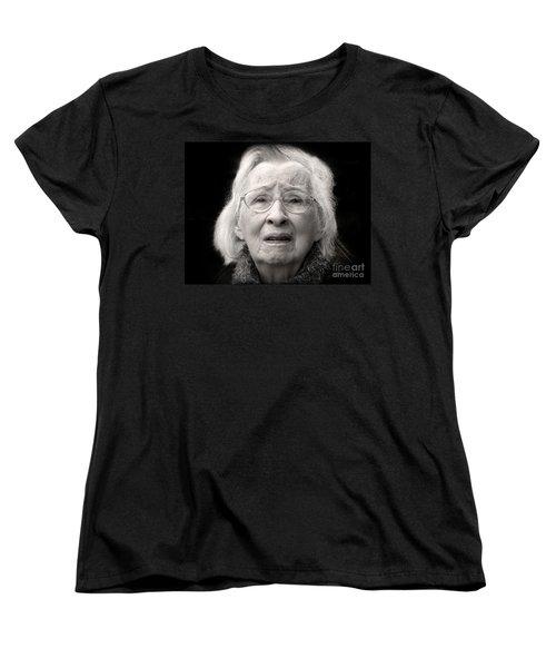 Five Minutes In A Long Life Women's T-Shirt (Standard Cut) by Ellen Cotton