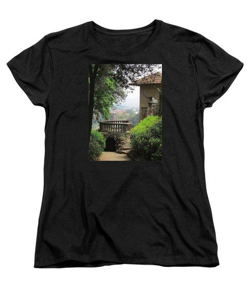 Garden View Women's T-Shirt (Standard Cut) by Ellen Henneke