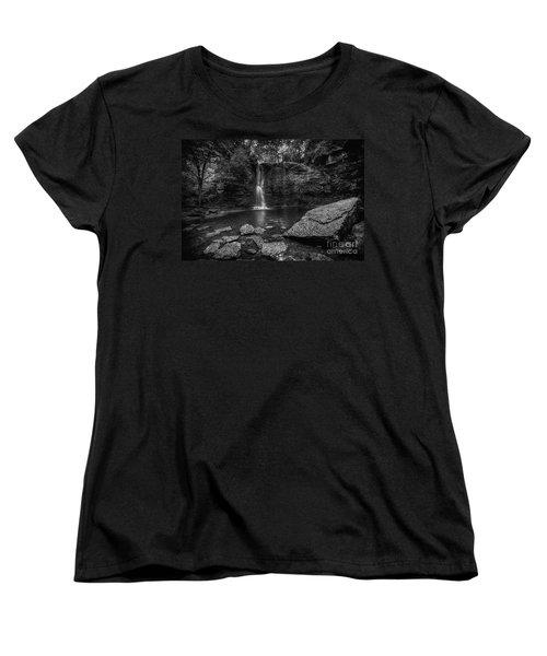 Hayden Falls Women's T-Shirt (Standard Cut) by James Dean