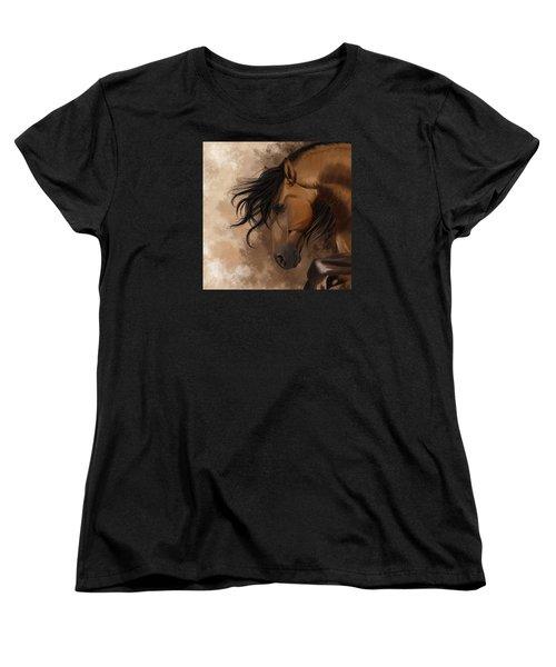 Hidden Sadness Women's T-Shirt (Standard Cut) by Kate Black