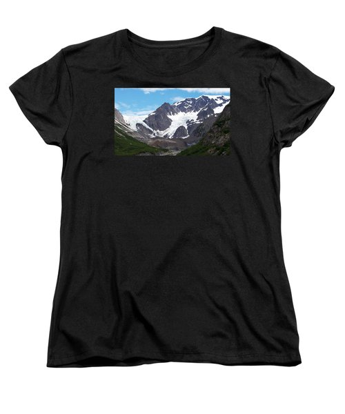 Women's T-Shirt (Standard Cut) featuring the photograph Ice And Snow by Aimee L Maher Photography and Art Visit ALMGallerydotcom