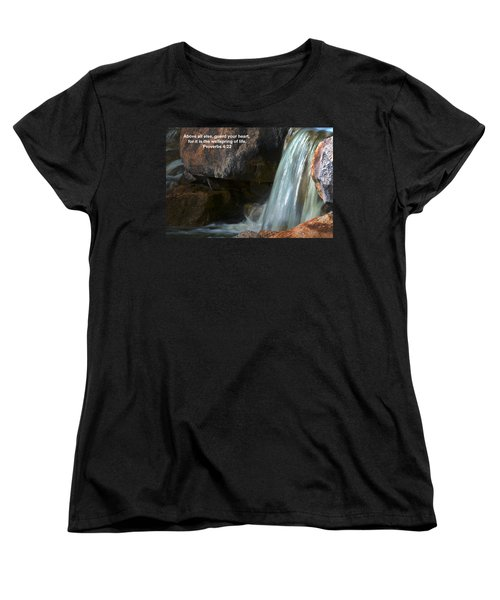 Life's Reflections Women's T-Shirt (Standard Cut) by Deb Halloran