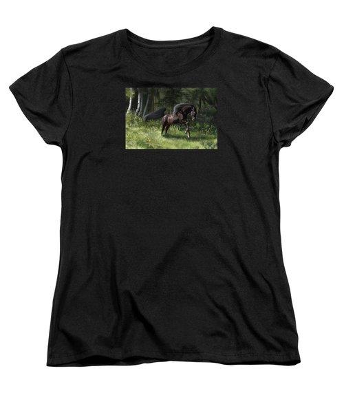 New Beginning Women's T-Shirt (Standard Cut) by Kate Black