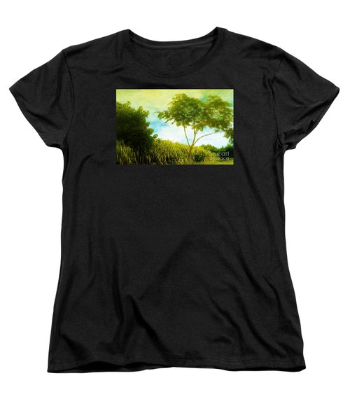 Ode To Monet Women's T-Shirt (Standard Cut) by Amar Sheow