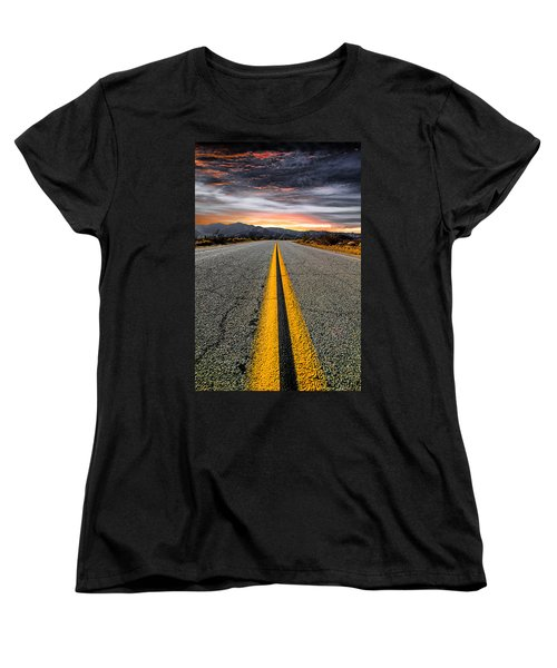 On Our Way  Women's T-Shirt (Standard Cut) by Ryan Weddle