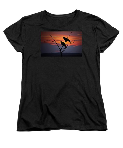 2 Ravens Women's T-Shirt (Standard Fit)