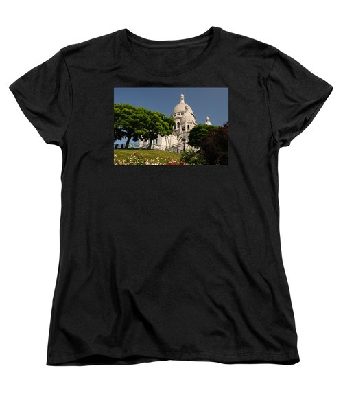 Women's T-Shirt (Standard Cut) featuring the photograph Sacre Coeur by Jeremy Voisey