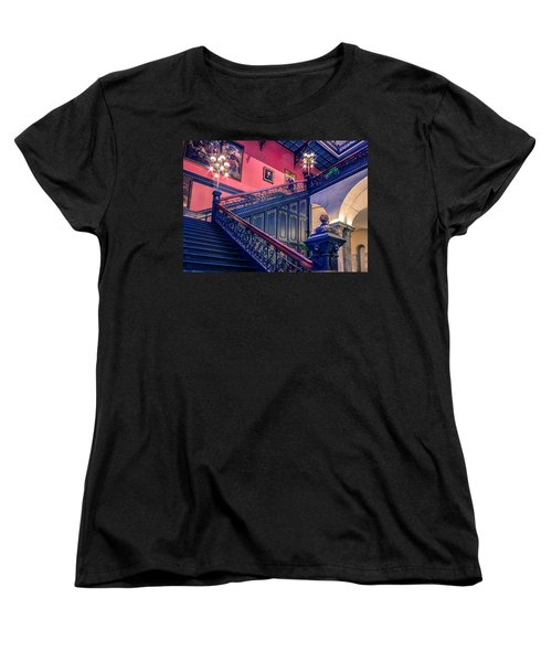 Women's T-Shirt (Standard Cut) featuring the photograph Sc State House by Rob Sellers