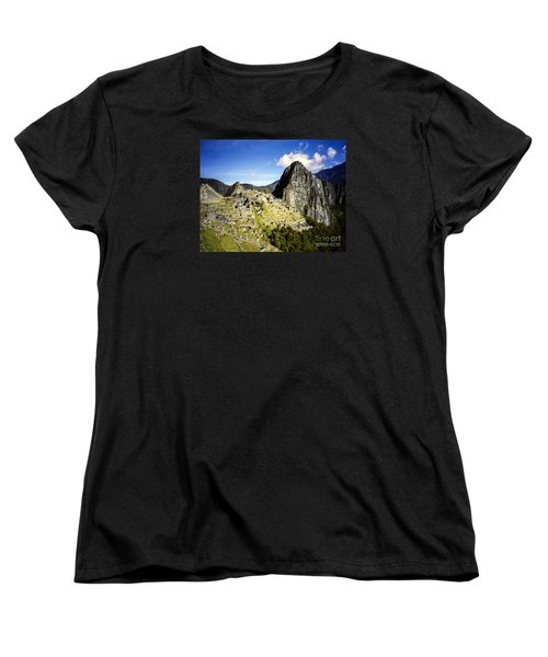 Women's T-Shirt (Standard Cut) featuring the photograph The Lost City by Suzanne Luft