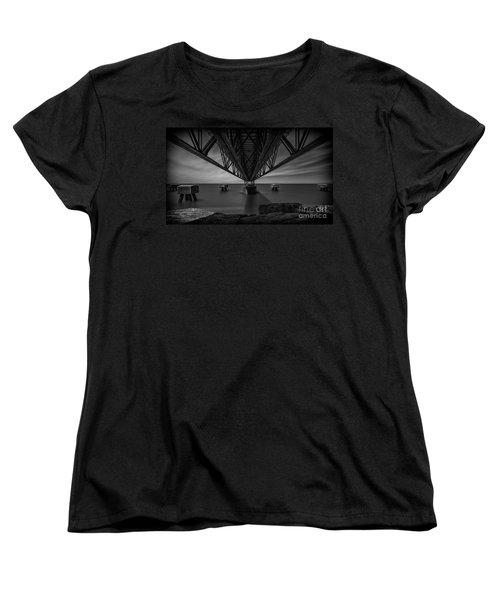 Under The Pier Women's T-Shirt (Standard Cut) by James Dean