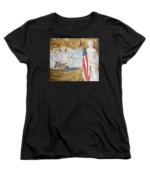 Visions Of Discovery Women's T-Shirt (Standard Cut) by Rich Milo