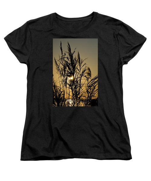 Women's T-Shirt (Standard Cut) featuring the photograph Whalehead Sunset Obx #3 by Greg Reed