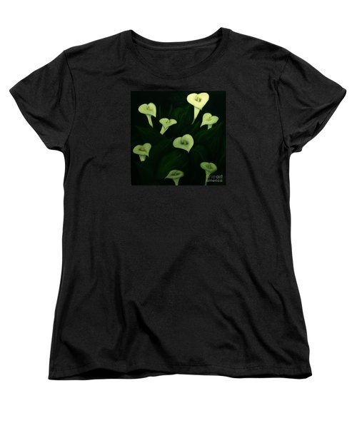 Calla Lilies Women's T-Shirt (Standard Cut) by John Stuart Webbstock