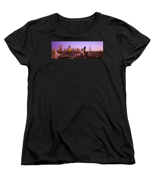 Dallas, Texas, Usa Women's T-Shirt (Standard Cut) by Panoramic Images