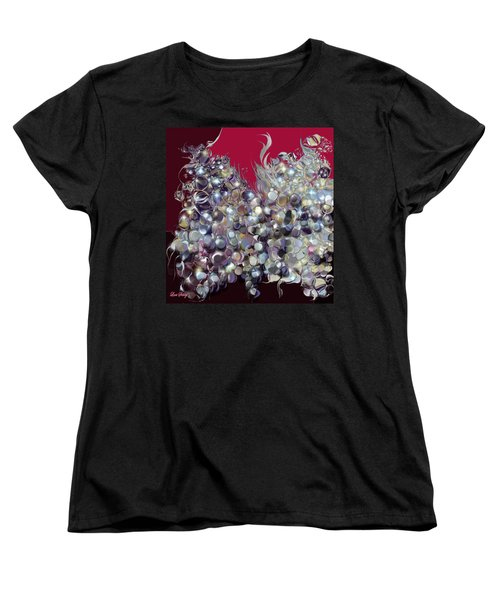 Design By Loxi Sibley Women's T-Shirt (Standard Cut) by Loxi Sibley