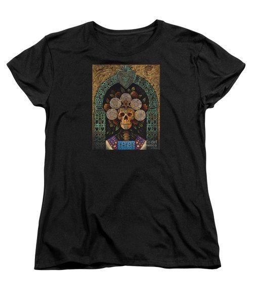 Dia De Muertos Madonna Women's T-Shirt (Standard Cut)